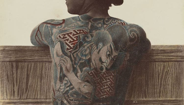 The History of Tattoos in Japan